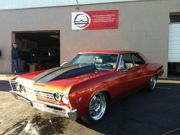 Hank's Chevelle – Legacy Innovations