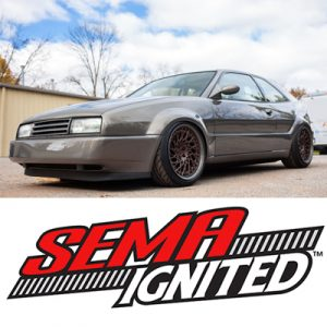 SEMA 2015 – Corrado places in Top 21 Battle of the Builders competition
